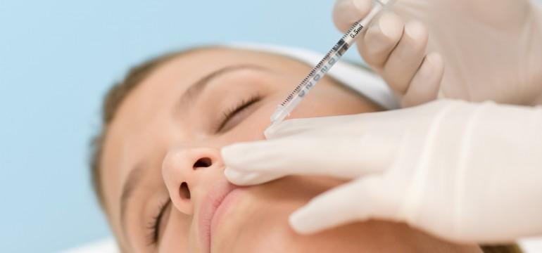 Botox Unterspritzung